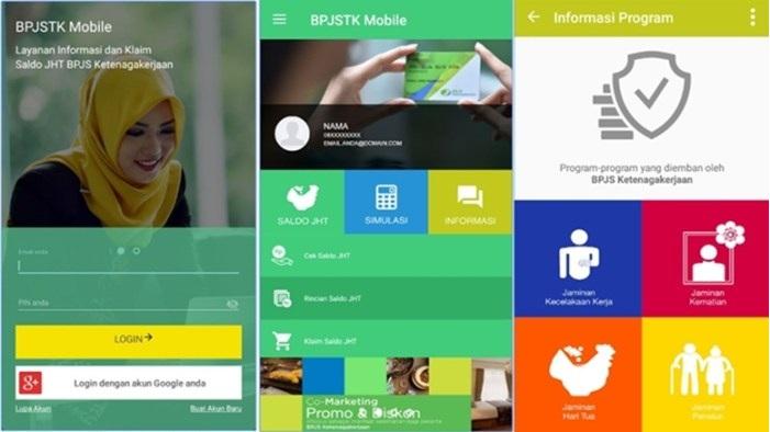 BPJS Ketenagakerjaan Mobile Android Cara Cek Saldo Jaminan Hari Tuan JHT