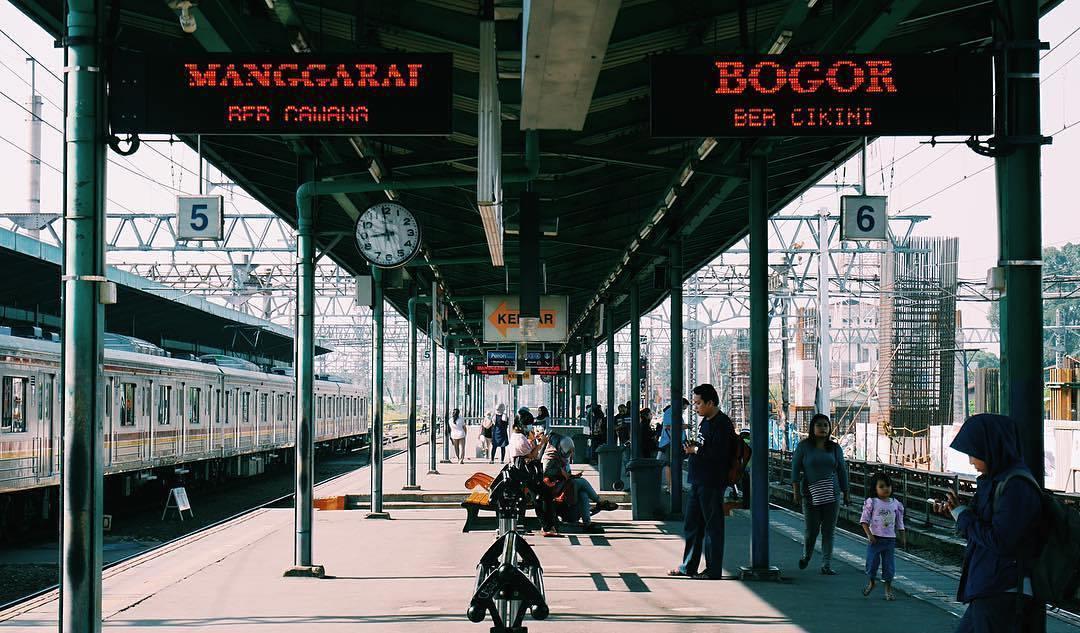 Jadwal KRL Stasiun Manggarai