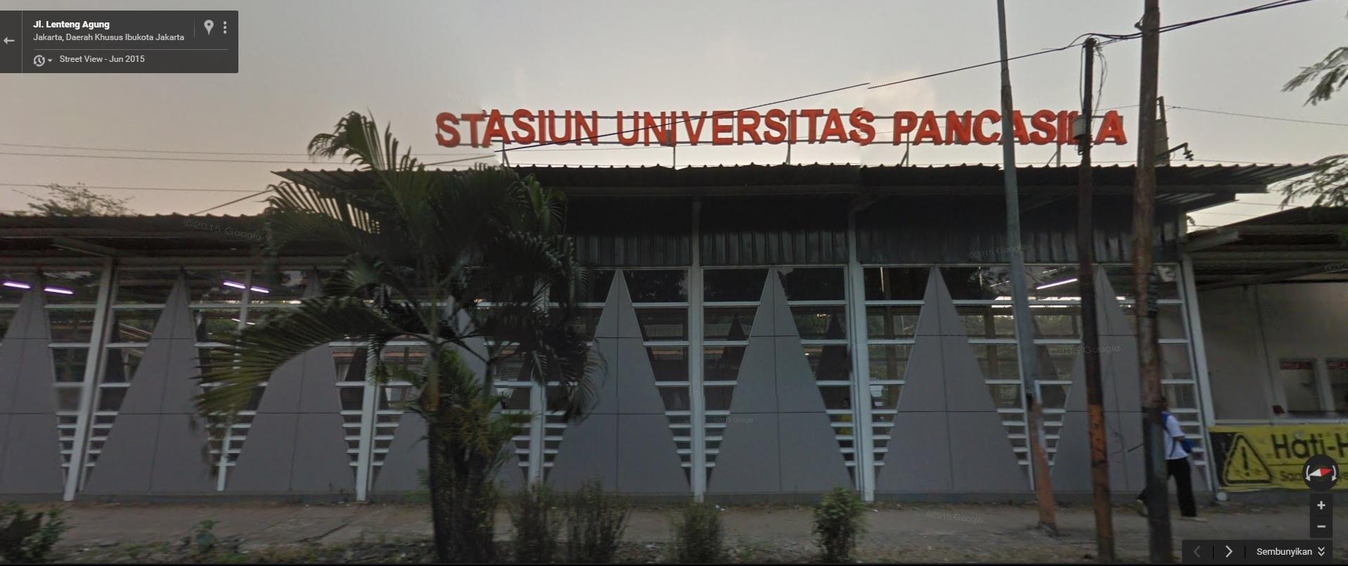 Jadwal KRL Stasiun Universitas Pancasila