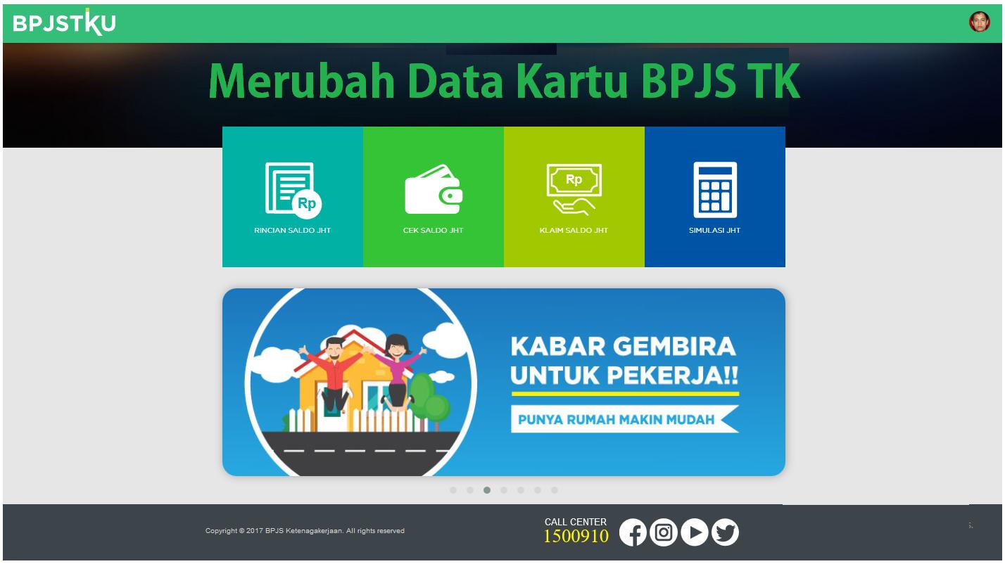 Merubah Data kartu BPJS TK
