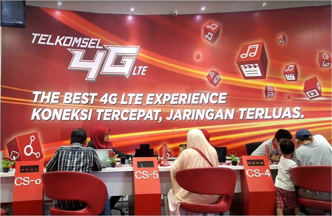 Grapari Telkomsel Tangerang