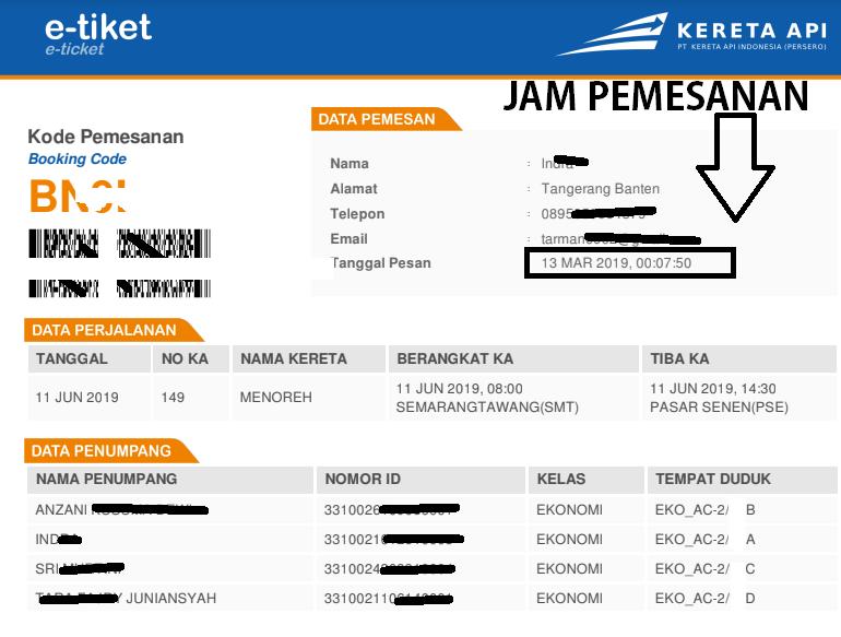 Tiket Kereta Lebaran KAI Access