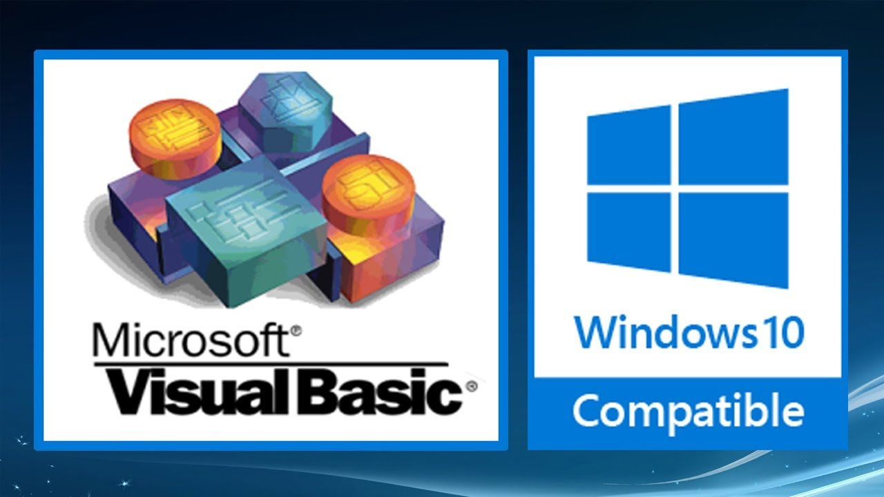 install VB6 Di Windows 10